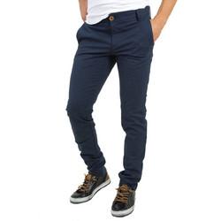 33b5c4de9c5 Ανδρικό υφασμάτινο παντελόνι μπλε GioS 6723W18