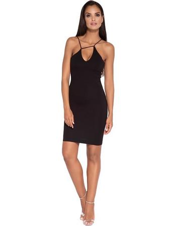 60052 DR Μίνι ελαστικό φόρεμα - Μαύρο 2545671eb3d