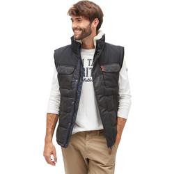 Tom Tailor Vest Jacket 35334850010-Black e208e8ac868