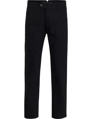 Ανδρικό Παντελόνι Chino Lightmov GreenWood - BLACK 8d8cdbf8d53