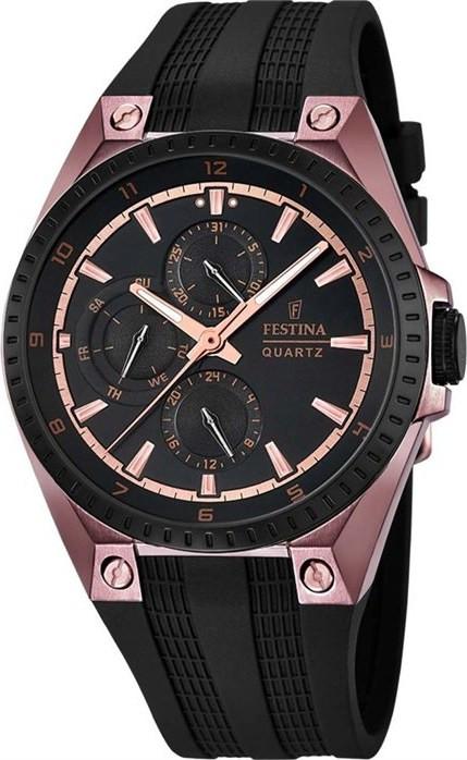 festina black rubber strap - Ανδρικά Ρολόγια  ca8f85103a7