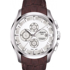Tissot Automatic Trend Couturier Brown Leather Strap T0356271603100 2bd2744d5f4