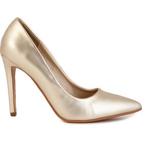 Γόβες χρυσές δερματίνη 301715gold. Tsoukalas Shoes f8ac02af7d1