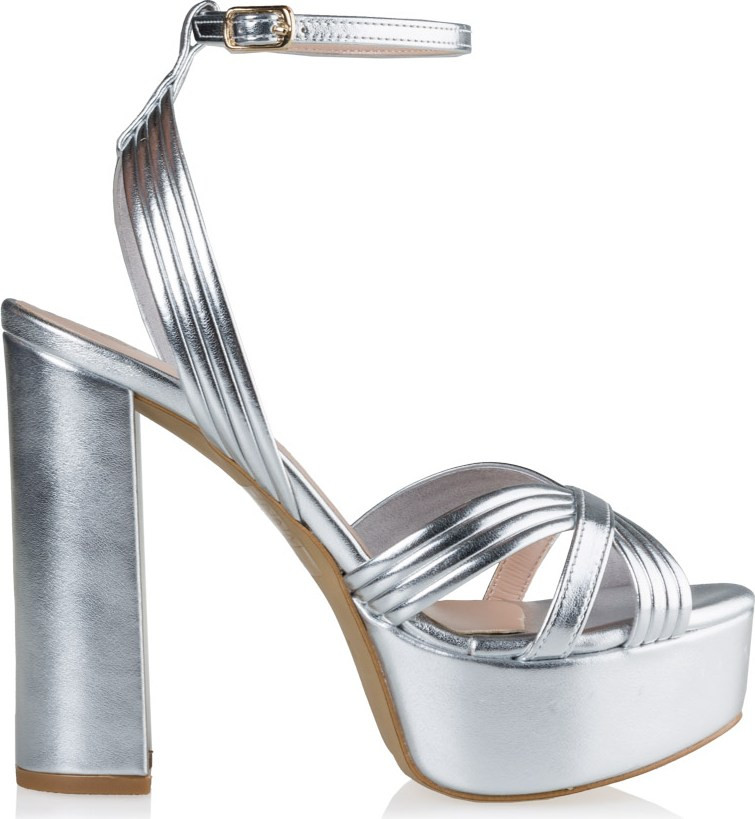 ασημενια OR silver OR ασημι - Γυναικεία Πέδιλα Envie Shoes (Ακριβότερα)  5a3e679ef77