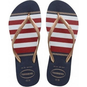 Havaianas Havaianas Slim Nautical Flip Flop Ladies 21320dea270