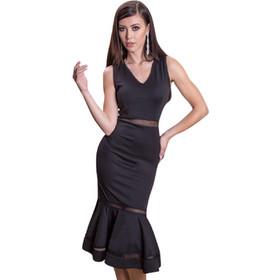 f6e5fced7fdb Μαύρο φόρεμα mermaid