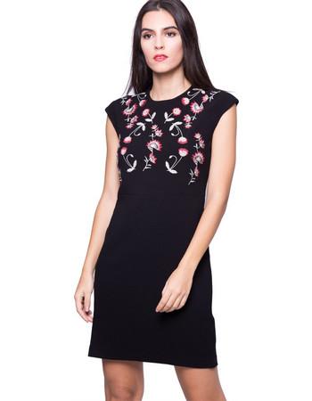 Γυναικείο φόρεμα Desigual - 17WWVW36 - Μαύρο b95f1b68bfa