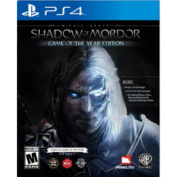 Middle Earth Shadow of Mordor Game of The Year Edition - PS4