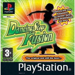 PS1 GAME - Dancing Stage Fusion
