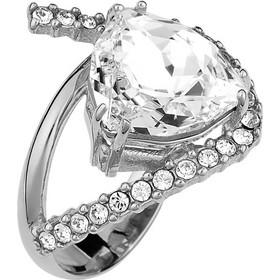 Ασημένιο δαχτυλίδι 925 με λευκή πέτρα SWAROVSKI AD-15817LL1 f987bef2330