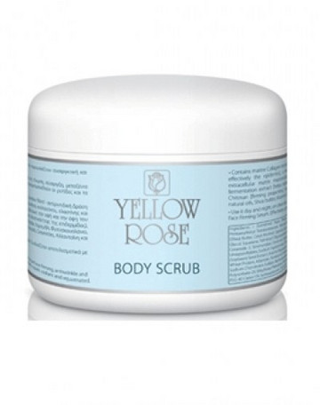 Yellow Rose Body Scrub 250ml