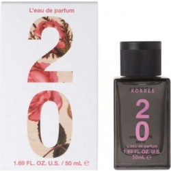 Korres L'Eau de Parfum 20 Rose, Musk & Vanilla Powder 50ml