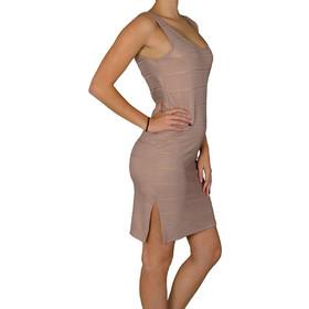 e1c560809946 Γυναικείο αμάνικο μίντι φόρεμα Lipsy σομόν ριπ 2170614C
