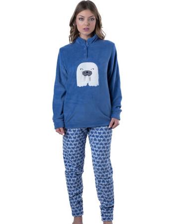 Πυτζάμα Homewear Karelpiu - Απαλό   Ζεστό Fleece - Χειμώνας 18 19 2bc374031fc