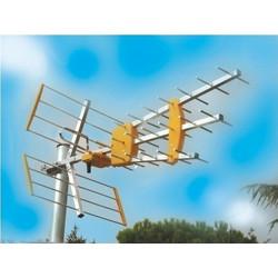 7815d477ea6 MISTRAL ANTENNA TRIPLE DIGITAL OUTDOOR UHF/VHF DVB-T TV 4G LTE 10dBi ΚΕΡΑΙΑ