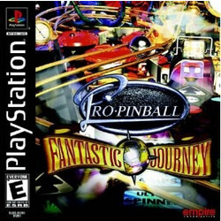 PS1 GAME Pro Pinball: Fantasic Journey