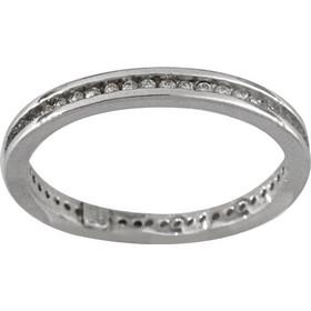 Δαχτυλίδι ολόβερο Latla ασημί 925 με ζιργκόν 576c6f74947