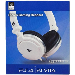 4Gamers PS4 Stereo Gaming Headset