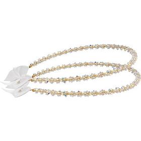 Στέφανα γάμου επίχρυσα από ασήμι 925 με πέτρες swarovski - Ioannis  Collection - D233K 406c46f6bd4
