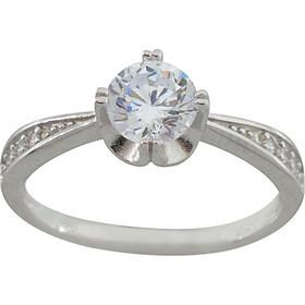 6f00cf052b Δαχτυλίδι ασήμι 925 μονόπετρο με ζιργκόν 6 χιλιοστά