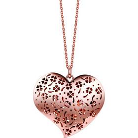 Μενταγιόν από ατσάλι με διπλή καρδιά Luca Barra TI00350 fb5ab53f314