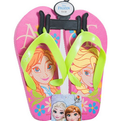 9ced28be6d9 Παιδικές Σαγιονάρες Έλσα Και Άννα Frozen Ροζ-Πράσινο Χρώμα Disney