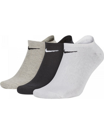 Nike Cushioned No-Show Sock 3 Pair (SX2554-901) SX2554-901 9d8a5733815