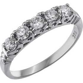 Γυναικείο δαχτυλίδι σειρέ Κ9 με ζιργκόν πέτρες 029932 029932 Χρυσός 9  Καράτια c8dc50c370d