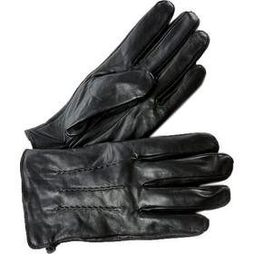 Ανδρικά δερμάτινα γάντια Verde 02-0000499 σε μαύρο χρώμα 223a4095ae9
