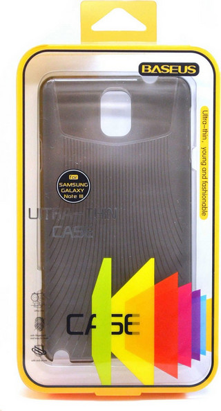 Baseus Ultra Thin Smoke (Galaxy Note 3) + Screen Protector