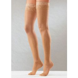 """Ελαστικές κάλτσες ριζομηρίου με σιλικόνη """"Stay Up"""" 70 den mm Hg 10- ab6afaa4e9a"""