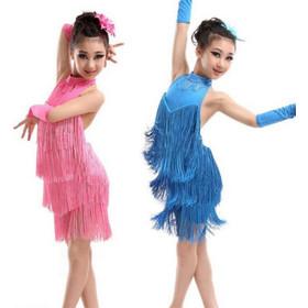 Παιδική Latin Στολή χορού L11 7711 10f0959c783
