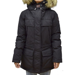 NAPAPIJRI SKIDOO OPEN WOMAN LONG BLACK+GIFT