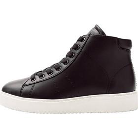 Esprit γυναικείο μποτάκι sneaker με κορδόνια - 098EK1W031 - Μαύρο ef8cb6bb9ab
