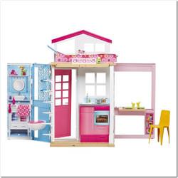 50db8239f72 Mattel Barbie Σπιτάκι Βαλιτσάκι με Κούκλα