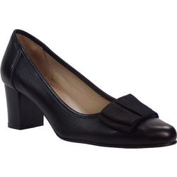 Πετρετζίκης Shoes Γυναικεία Παπούτσια Μποτάκια 68 Μαύρο Δέρμα 38366 504edb85b26