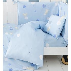 Κουβερλί Κούνιας Nima Home Baby Star Blue Γαλάζιο Κούνιας d5e2b423db5