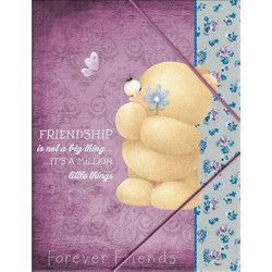 419d555b8d Ντοσιέ λάστιχο A4 Forever Friend 333-40510 Back Me Up