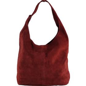 7b685163f7f Δερμάτινη τσάντα ώμου hobo καστόρινη.Advanced style.New arrival. ΜΠΟΡΝΤΩ