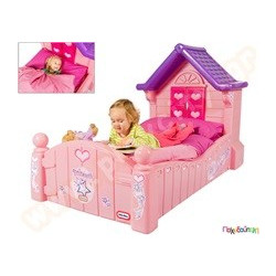 9ceadf14383 Παιχνίδια Εξωτερικού Χώρου και Μίμησης Little Tikes Παιδικό Κρεβάτι Princess  Little Tikes