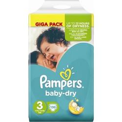 Pampers Baby Dry Midi No3 4-9kg 136τμχ c01ac8e57ce