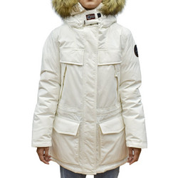 NAPAPIJRI SKIDOO OPEN WOMAN LONG IVORY+GIFT