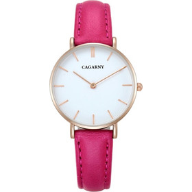 CAGARNY 6872 Living Waterproof Round Dial Quartz Movement Alloy Gold Case  Fashion Watch Quartz Watches with 5630b94d3aa