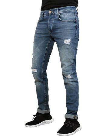 e9e4a8621a0b Ανδρικό jean παντελόνι DARRELL - Jeans Blue