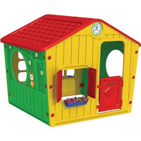 4358edf1b77 StarPlay - Παιδικό Σπιτάκι Κήπου Galilee Village House Κόκκινο - Κίτρινο  01-561