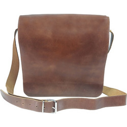 DOMLEATHERS DOMLEATHERS CASUAL ΔΕΡΜΑΤΙΝΗ ΤΣΑΝΤΑ ΩΜΟΥ DL No18 ΚΑΦΕ 1d3c1a669f6