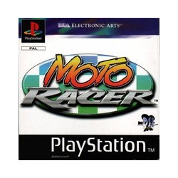 PS1 GAME Moto Racer