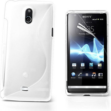 Krusell ColorCover White (Xperia T)