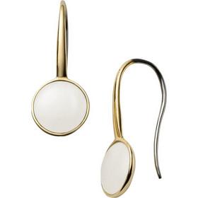 Σκουλαρίκια Από Ατσάλι Στο Χρώμα Του Χρυσού Του Οίκου Skagen Με Κρύσταλλα fddd6175237