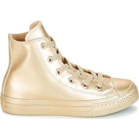 767e1077278b27 Converse Chuck Taylor All Star Metallic Gold Infant HI 757631C